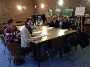 Die Teilnehmer am Gesprächskreis