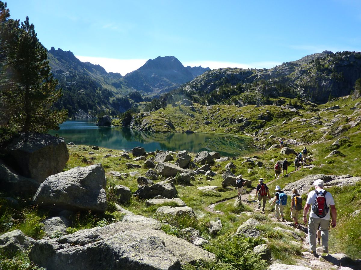 Wandern in den Pyrenäen 2014