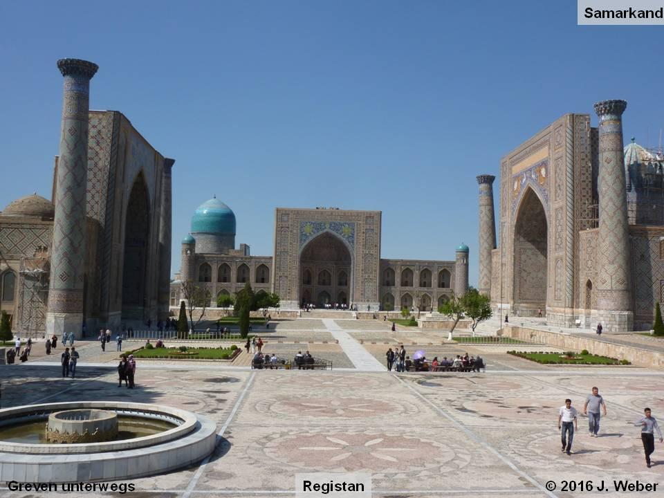 Busreise durch Uzbekistan zum 8. Reisestammtisch