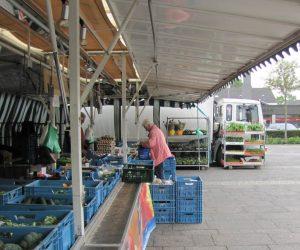 Foto Marktstand