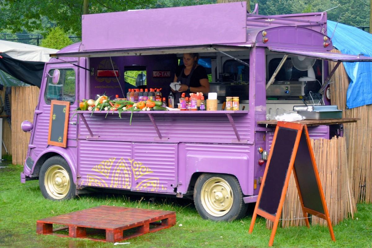Foto Verkaufswagen Imbiss