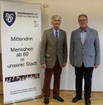Jürgen Chmielek (r.) und Otto K. Rohde, geschäftsf. Vorstand