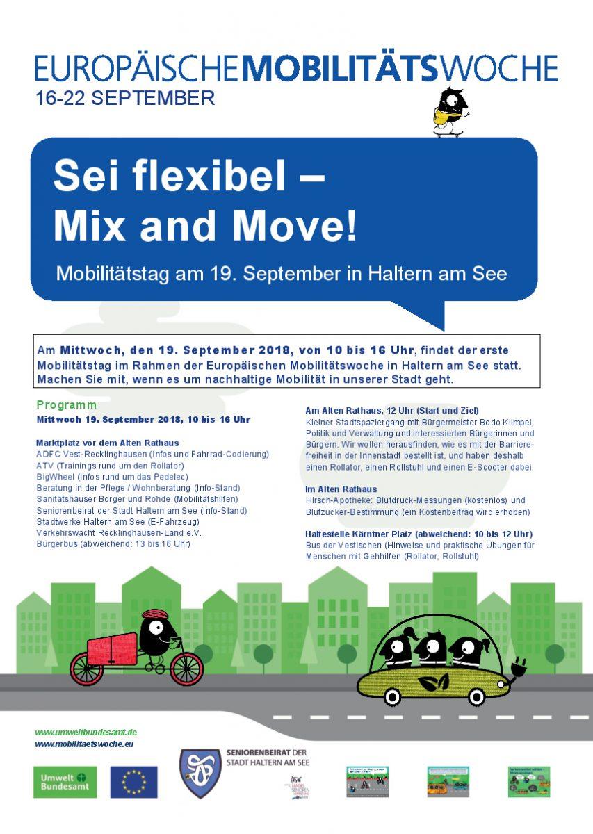 Mobilitätstag 2018 in Haltern am See