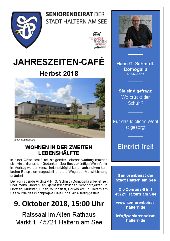 Jahreszeiten-Café - Herbst 2018