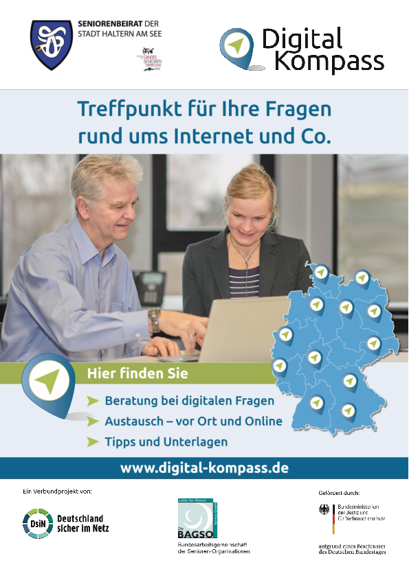 Digital-Kompass in Haltern am See