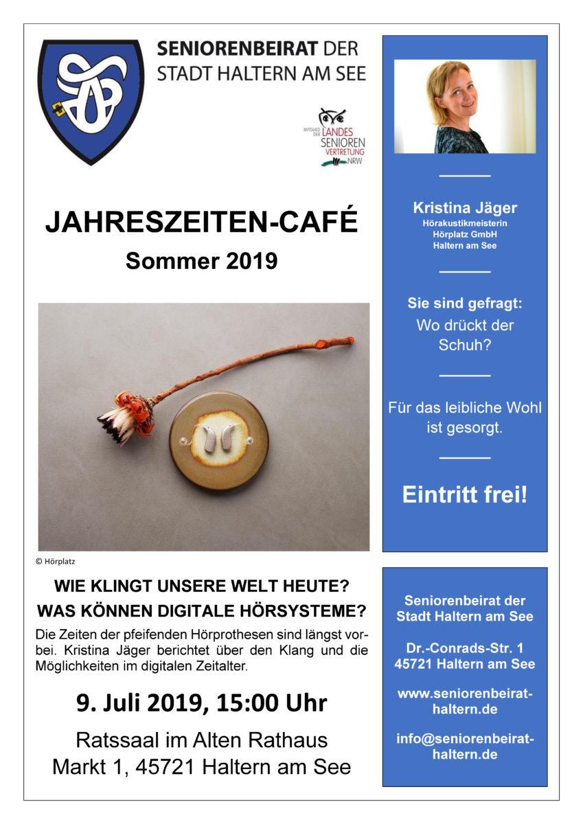 Jahreszeiten-Café Sommer 2019