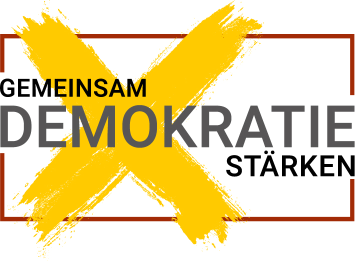 Logo Demokratie stärken