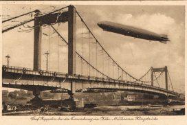 Einweihung der ersten Hängebrücke (1929)