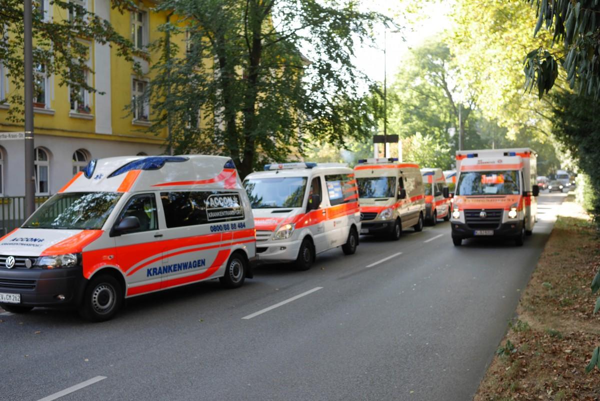 Evakuierung des Städt. Seniorenzentrums Riehl 2016