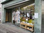 Schaufenster der Buchhandlung Till Eulenspiegel