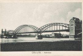 Historische Aufnahme der Südbrücke (Quelle: J. Brokmeier)