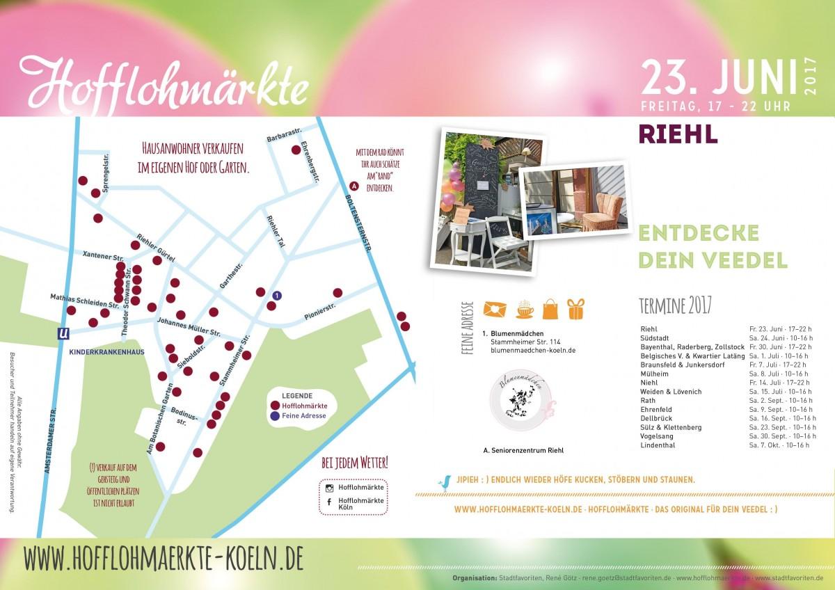 Plan der teilnehmenden Höfe