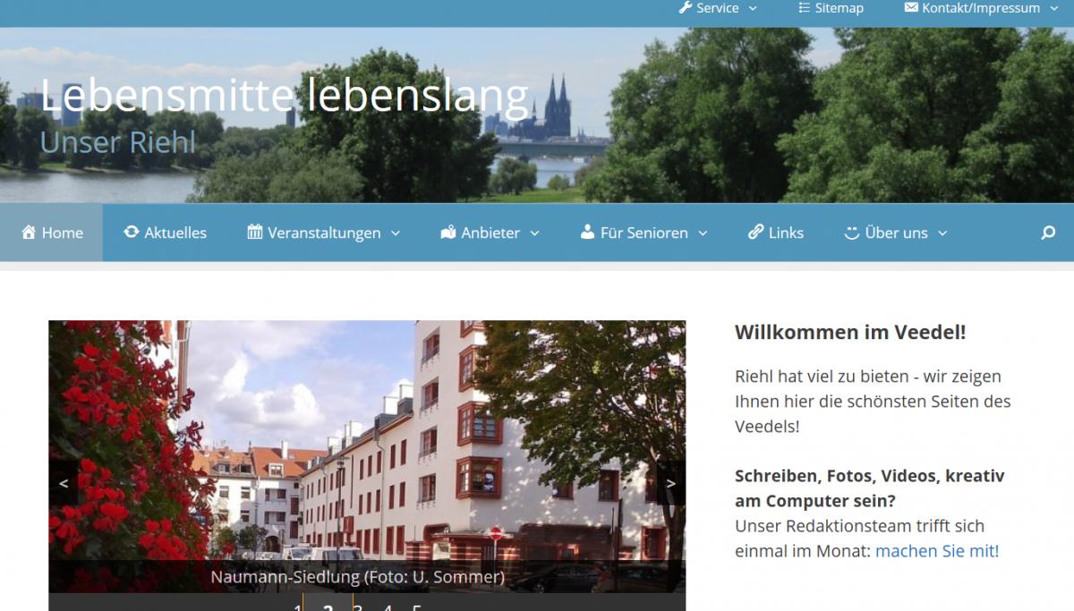 Neue Adresse: daheim-in-riehl.de
