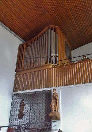 Orgel der St. Anna Kirche