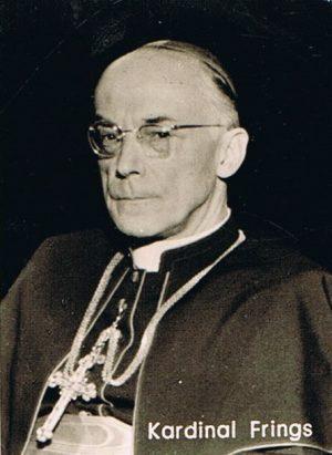 Kardinal Frings (Foto: Sammlung Brokmeier)