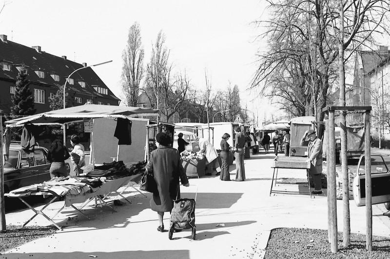 nWochenmarkt 1948 (Quelle: Brokmeier)