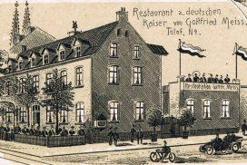 Ehemalige Außenansicht v. Monheimer Hof