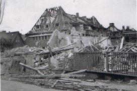 Garthestraße 3 zerstört