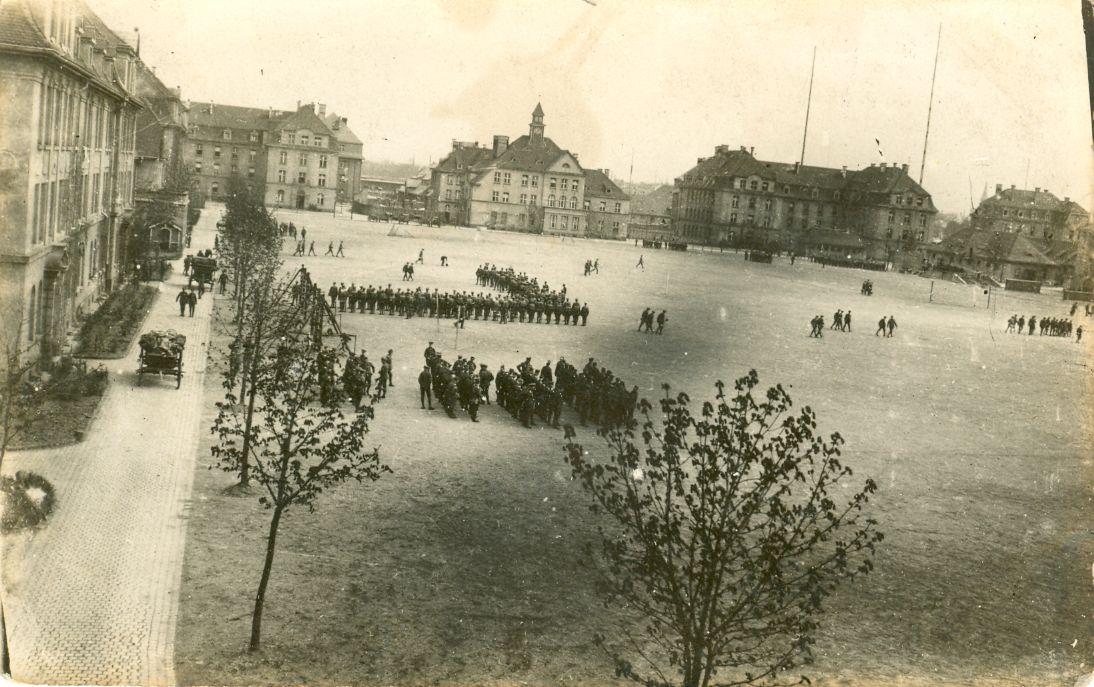 Historische Aufnahme der Kasernenstadt
