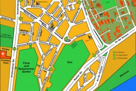 Stadtplan Riehls (Quelle: Herbert Hübner)