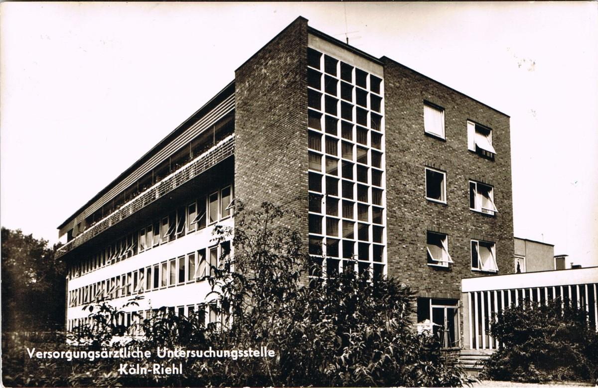 Historische Aufnahme der Orthopädischen Versorgungsstelle