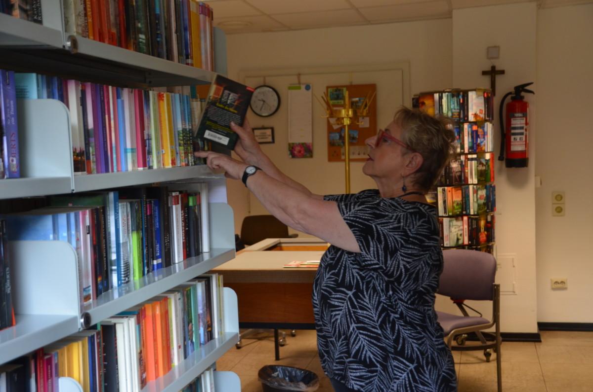 Bücherei im Jahre 2019