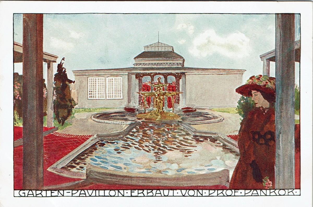 Abbildung Gartenpavillon