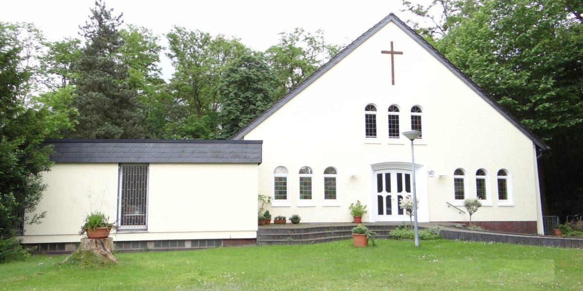 Das Gemeindehaus der ev. Kirchengemeinde Meerbeck