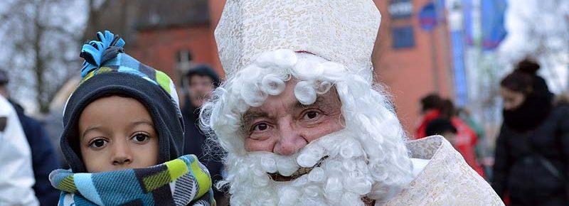 Der Nikolaus kommt in die KiTas