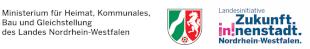Logos Landesministerium NRW und Sofortprogramm Innenstadt