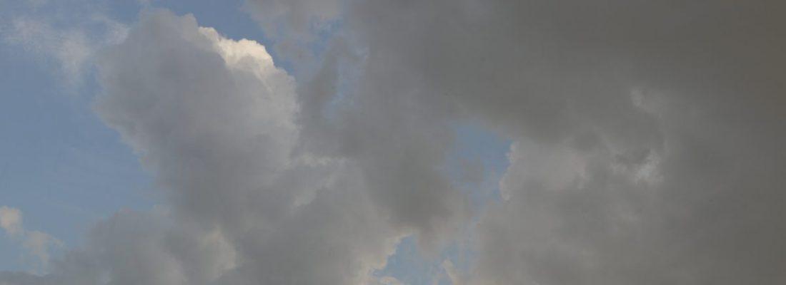 Wolken verdichten sich