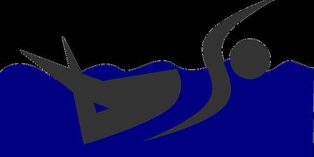 Symbolhaft für Schwimmen