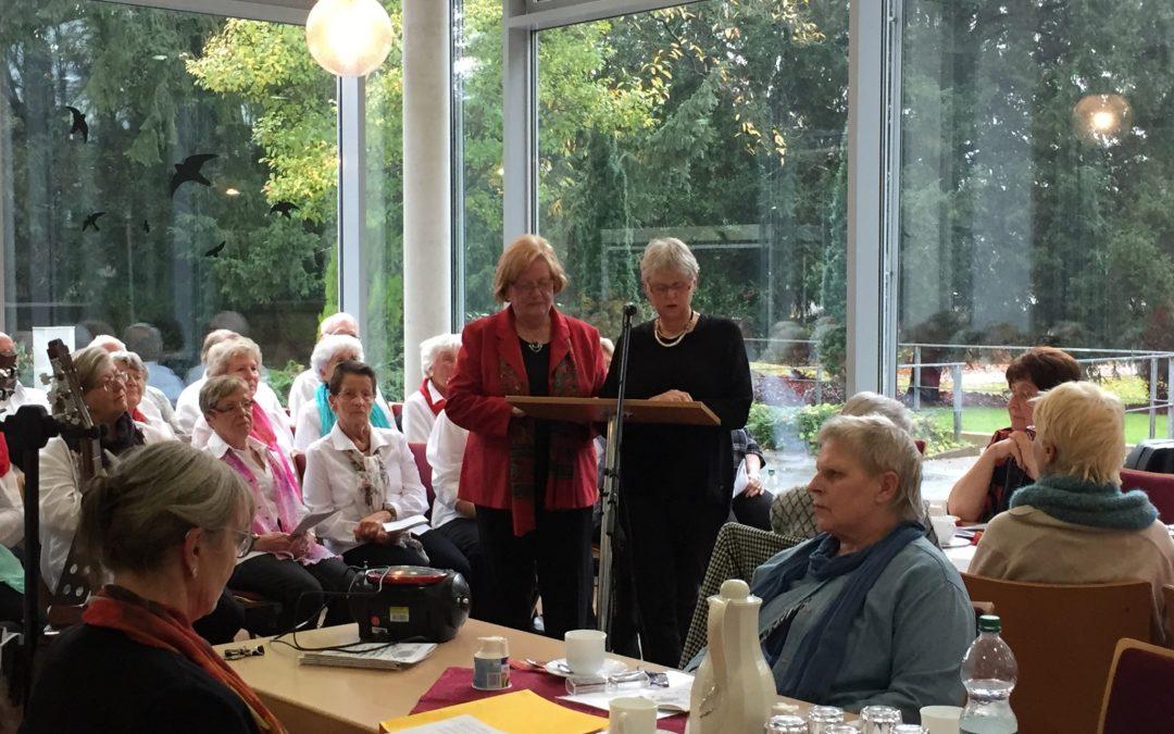 Feier zum 15-jährigen Bestehen des Schreibclubs der Villa Friedlinde