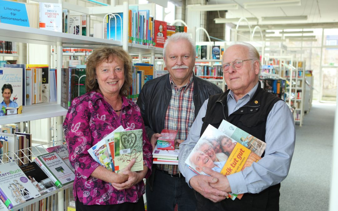 Neue Bücher für die Seniorenarbeit jetzt in der Stadtbibliothek