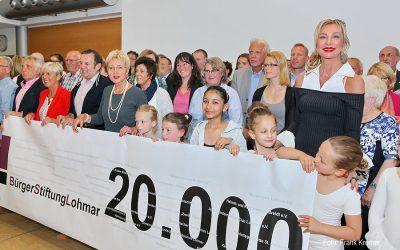 BürgerStiftungLohmar schüttete ihr Füllhorn aus