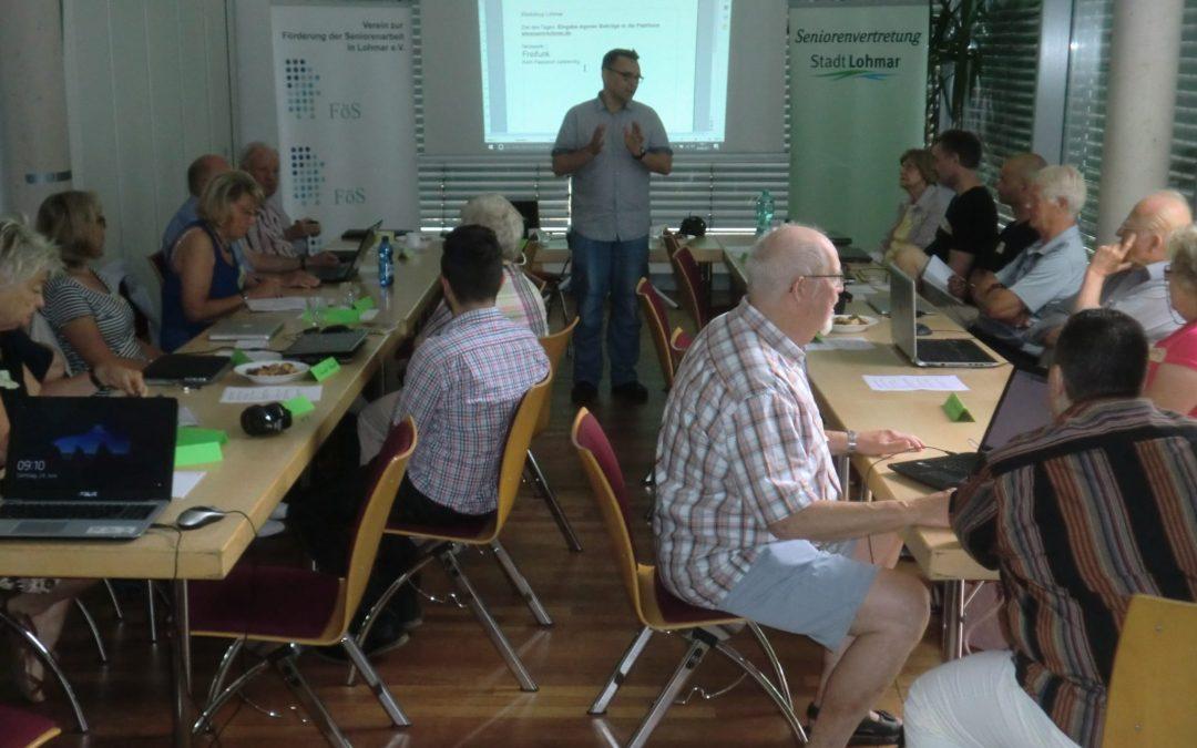 WordPress-Schulung in Lohmar