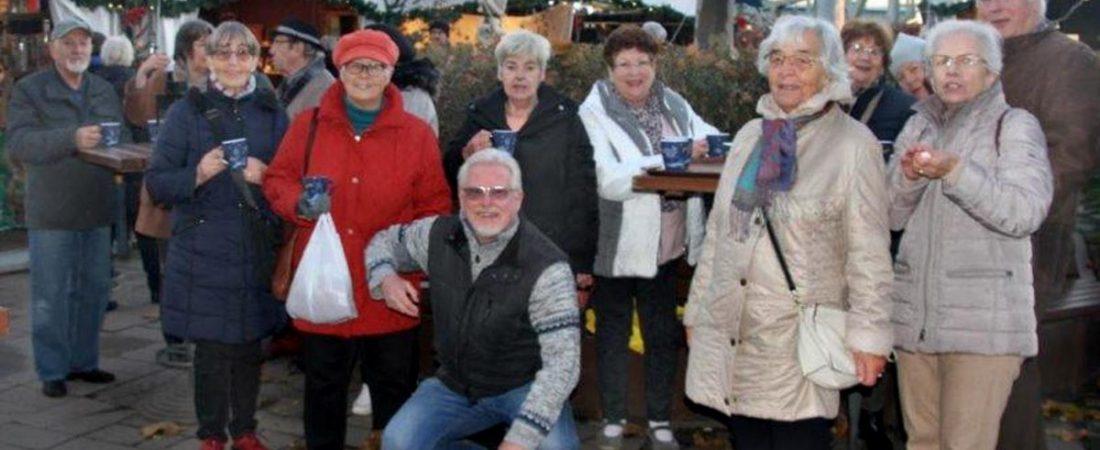 Hafen-Weihnachtsmarkt Gruppenaufnahme