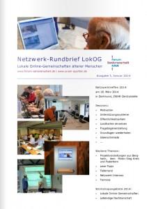 Netzwerk-Rundbrief Nummer 3 2014