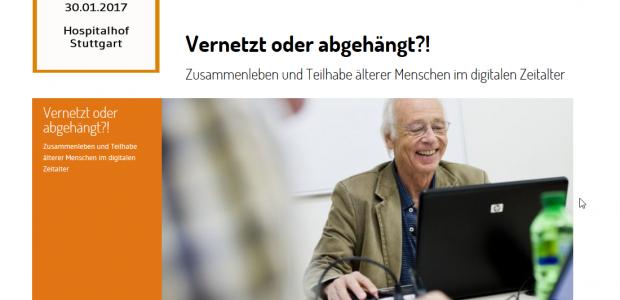 """Präsentation vom Fachtag """"Vernetzt oder abgehängt?!"""""""