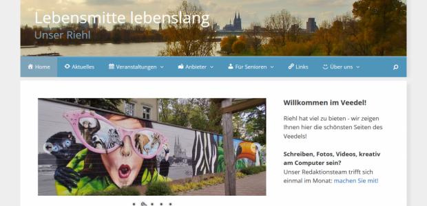 Neue Quartiersplattform online: Köln-Riehl