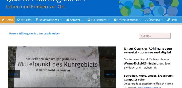 Quartier Röhlinghausen: Leben und Erleben vor Ort