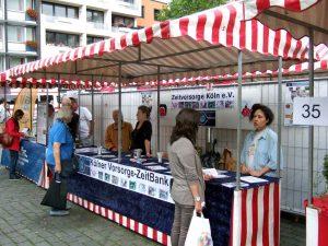 Präsenz auf dem Kölner Freiwilligentag 2014