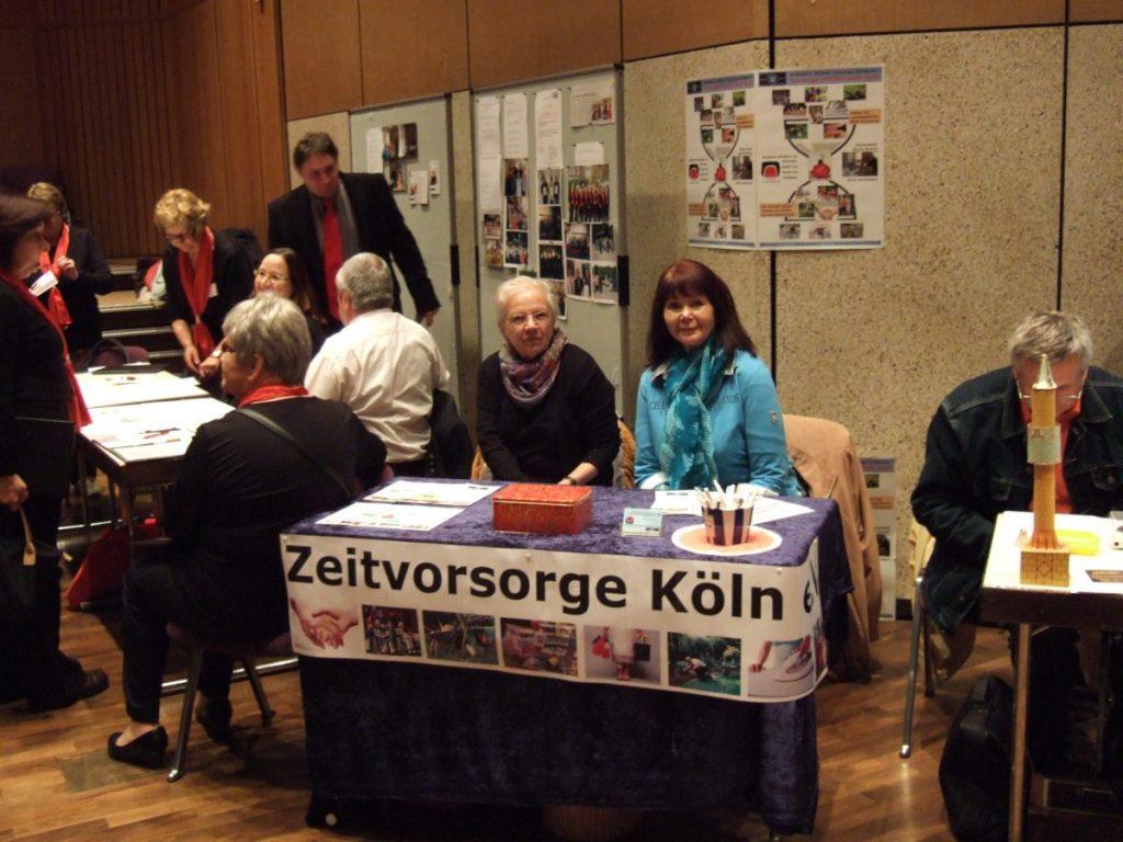 Informationsstand am Porzer Seniorentag 2014